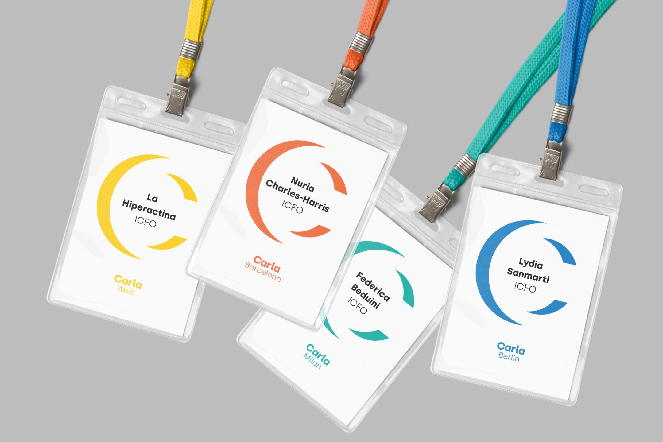 Bitflow-studio-carla-conference-badge-design