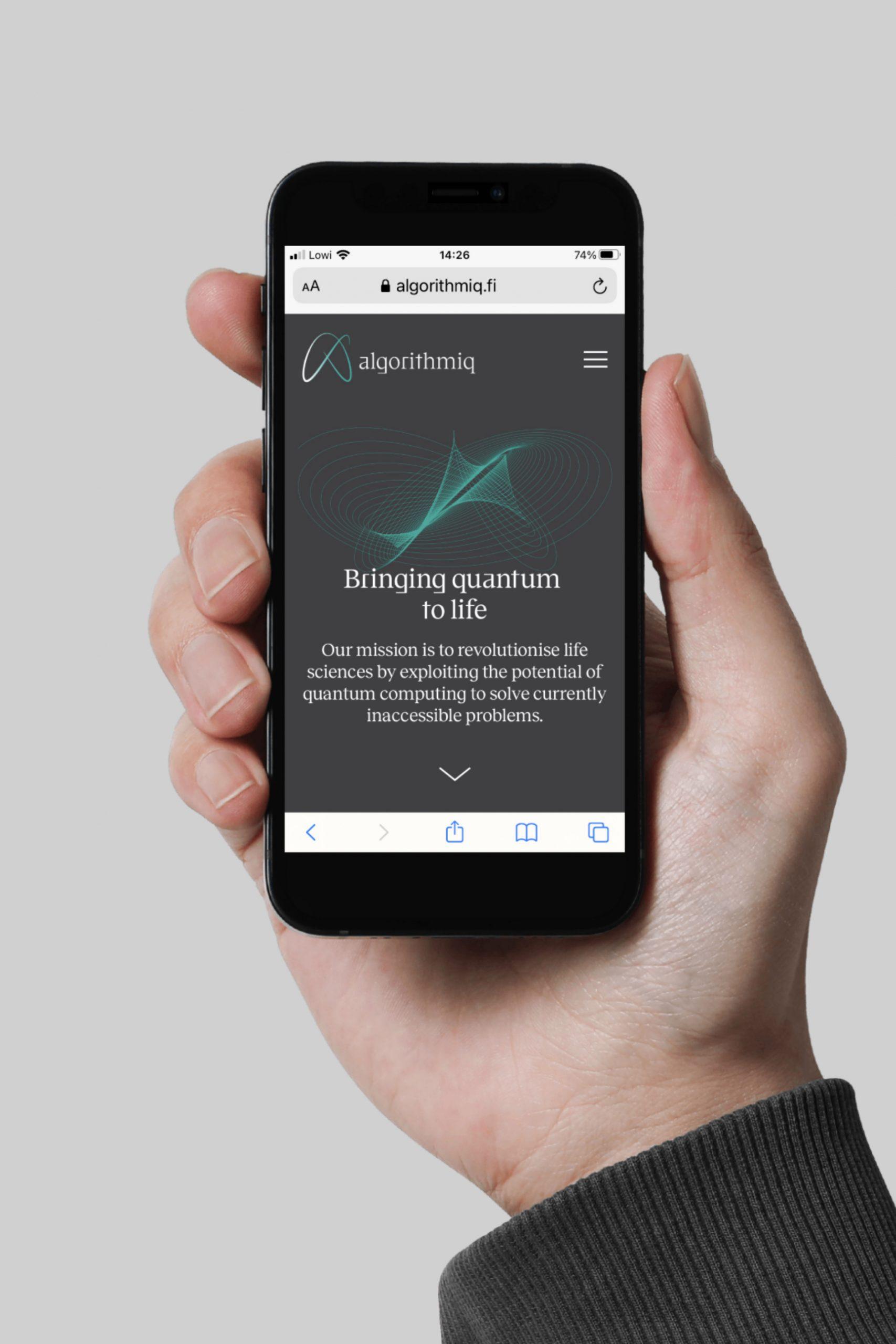 IPhone_Algorithmiq-design-quantum-technology-startup