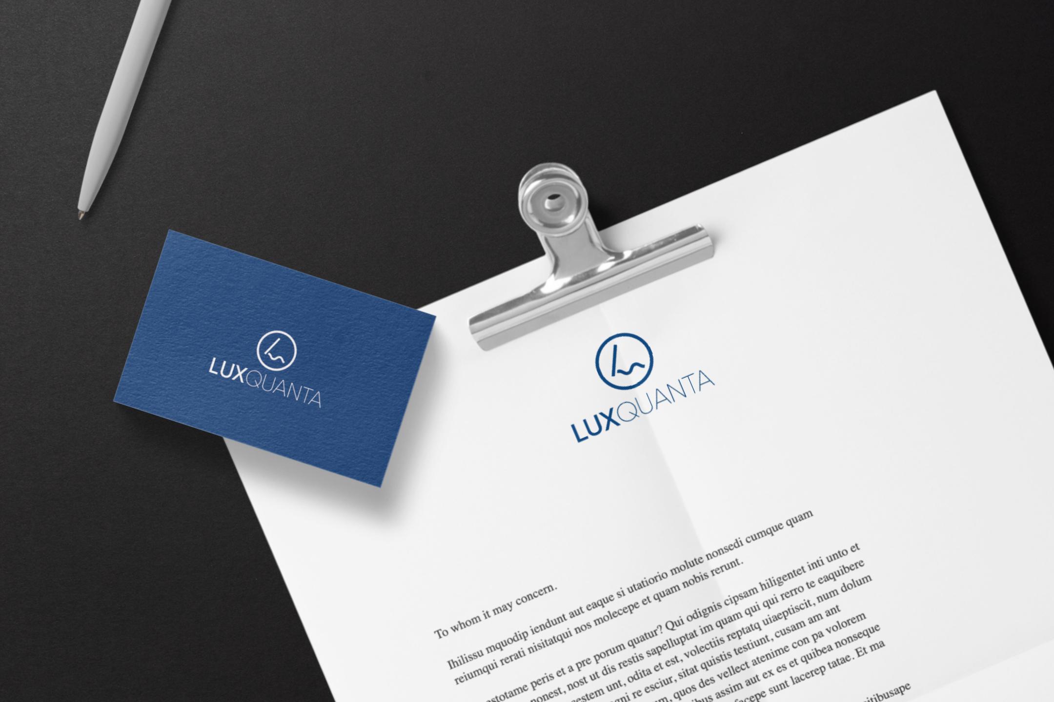 LuxQuanta-logo-design-business-card-letterhead