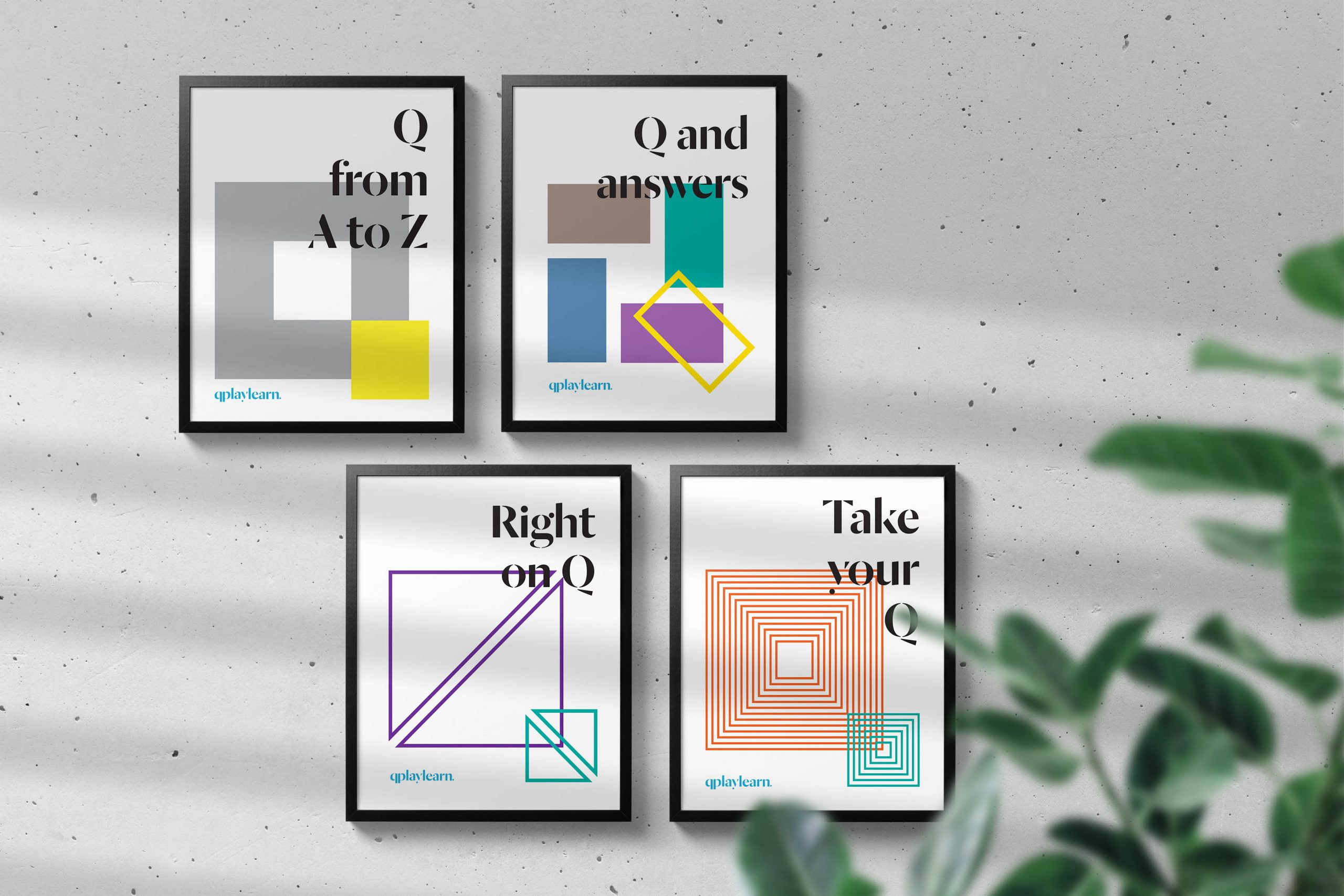 Qplaylearn-poster-design